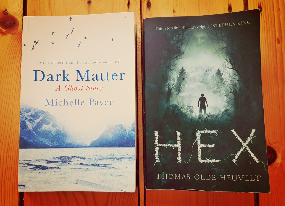 Two hauntings, two very different deliveries… two great reads
